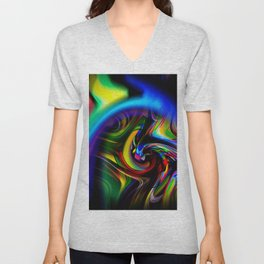 Abstract Perfection 19 Unisex V-Neck