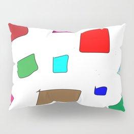 Hand Drawn Wannabe Squares (Jamison) Pillow Sham