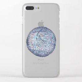 Pangolin Clear iPhone Case