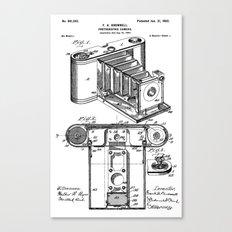 camera patent Canvas Print