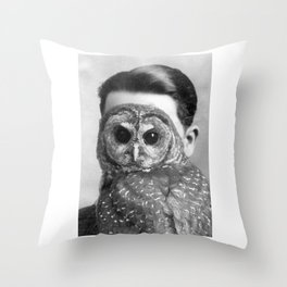 Unknown (Man) Portrait Throw Pillow