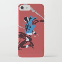 spider man iPhone & iPod Cases featuring Spider-Man - Scarlet Spider by TracingHorses