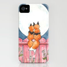 Fox Sweethearts iPhone (4, 4s) Slim Case