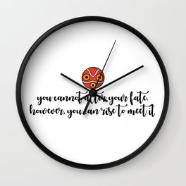 YOU CAN RISE Wall Clock