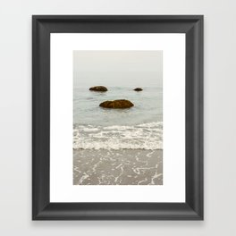 Summer Sea Framed Art Print