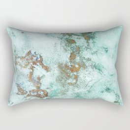 MARBLE - INKED INCEPTION - GOLD & ICE Rectangular Pillow