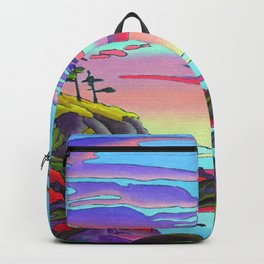 Pacific Pacific by Amanda Martinson Backpack