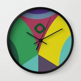 Corner Wall Clock