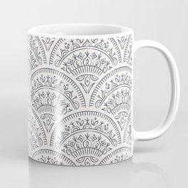 Bohemian Scallops - Obsidian Coffee Mug