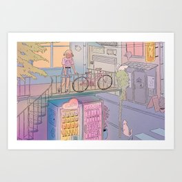 City Escape Art Print