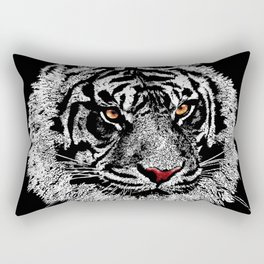 white tiger iPhone 4 4s 5 5c 6 7, pillow case, mugs and tshirt Rectangular Pillow