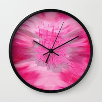 poem Wall Clocks featuring pink poem  by sladja