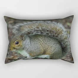Squirrel in the woods Rectangular Pillow