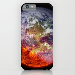 Global Warming Climate Change iPhone Case