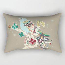 Morning Skylark Rectangular Pillow