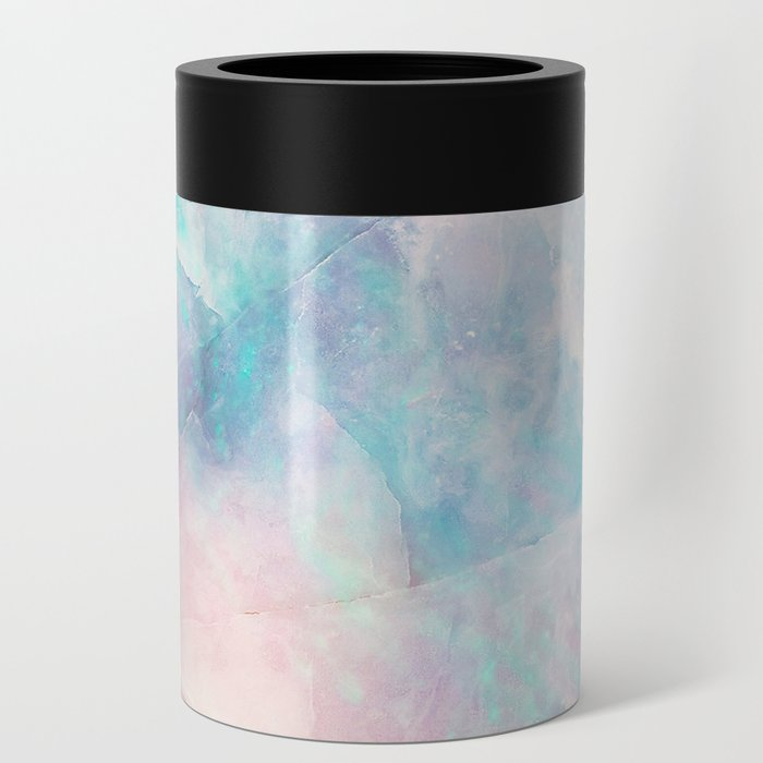 Iridescent marble Can Cooler