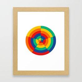 Circ Framed Art Print