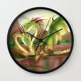 Zippleback httyd barf and belch Wall Clock