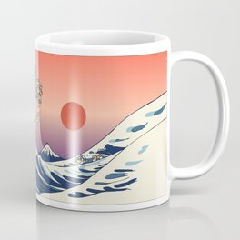 The Great Wave of Shiba Inu Coffee Mug