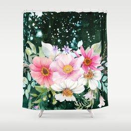 Flowers bouquet 70 Shower Curtain