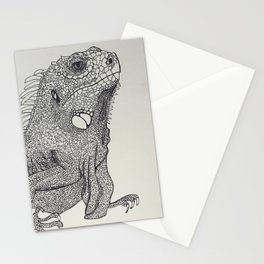 Lounge lizard Stationery Cards