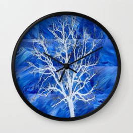 and the seed became tree Wall Clock