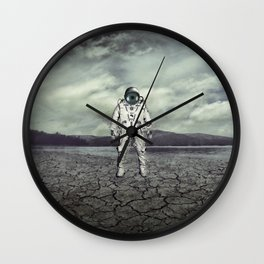 Dust to Dust Wall Clock