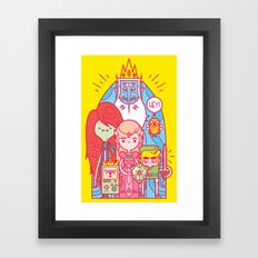 The Legend of Adventure Framed Art Print