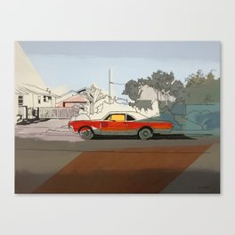 Flint St. Canvas Print