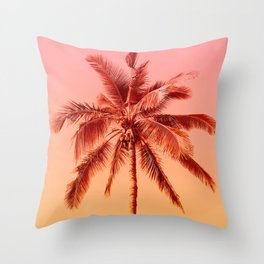 Palm beach Throw Pillow