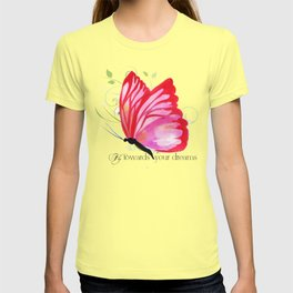 Fly Towards Your Dream Butterfly T-shirt