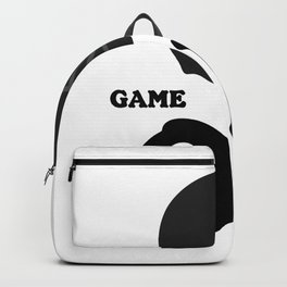 Game On Helmet American Football Design Backpack