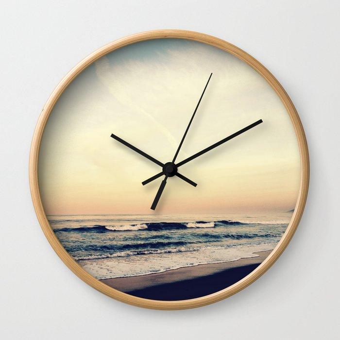 Summer Haze Wall Clock