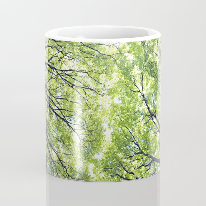 Green Maples Coffee Mug