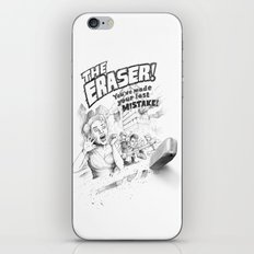 The Eraser iPhone & iPod Skin