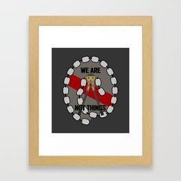 Bolt Cutter Framed Art Print