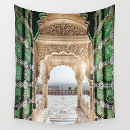 Jaswant Thada memorial in Rajasthan, India Wall Tapestry