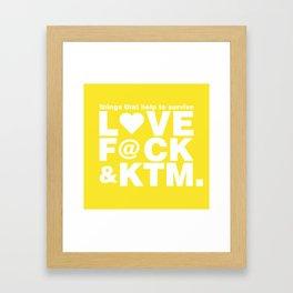 things Framed Art Print