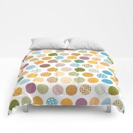 bohemian circles Comforters
