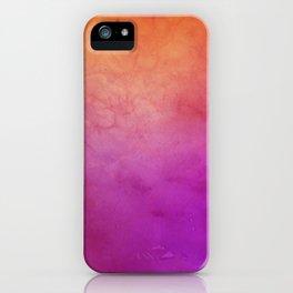 Watercolor BG iPhone Case