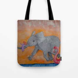 Little Giggles Tote Bag