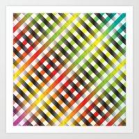 blink 182 Art Prints featuring Blink by HK Chik