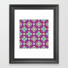 Purple Cave 4 SE Framed Art Print
