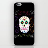 selena gomez iPhone & iPod Skins featuring Gomez by Designs By Misty Blue (Misty Lemons)
