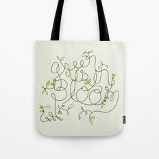 Green is in Bloom Tote Bag