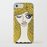 sassy iPhone & iPod Cases featuring Sassy by Kurit Mikay
