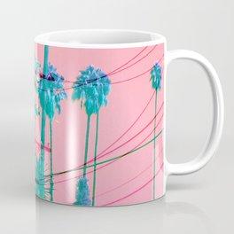 Electric Pole Glitched Coffee Mug