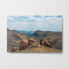 Pikes Peak Landscape Metal Print