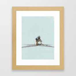 The Return of the Cowboys Framed Art Print