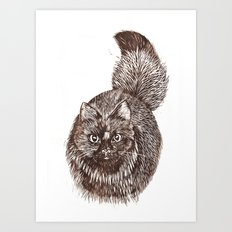 Lucky Art Print
